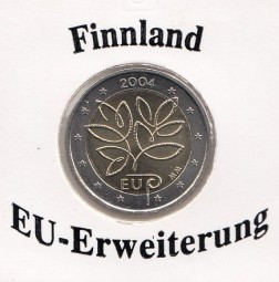 Finnland 2 € 2004 EU - Erweiterung
