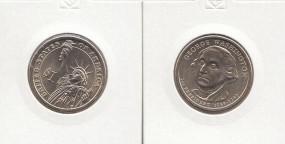01 USA Präsidenten - Dollar 2007, Washington, Buchstabe P