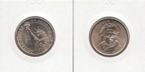 07 USA Präsidenten - Dollar 2008, Jackson, Buchstabe D, bankfrisch