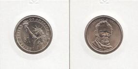 18 USA Präsidenten - Dollar 2011, Grant, Buchstabe P, bankfrisch