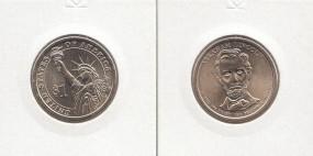 16 USA Präsidenten - Dollar 2010, Lincoln, Buchstabe P, bankfrisch