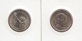 10 USA Präsidenten - Dollar 2009, Tyler, Buchstabe P, bankfrisch