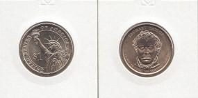 12 USA Präsidenten - Dollar 2009, Taylor, Buchstabe P, bankfrisch