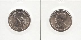 26 USA Präsidenten - Dollar 2013, Roosevelt, Buchstabe D, bankfrisch