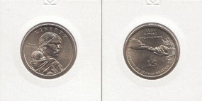 USA Native Dollar 2011 Buchstabe P
