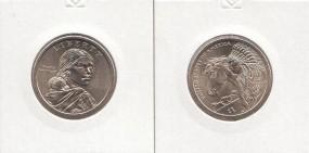 USA,Native Dollar 2012 Buchstabe D