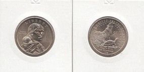 USA ,Native Dollar 2013 Buchstabe D