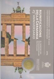 San Marino 2 € 2015 25 Jahre Wiedervereinigung im offiziellen Blister