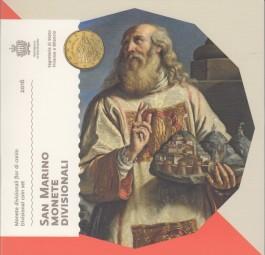 San Marino Kursmünzsatz 2016 ST, 1 Cent - 2 Euro