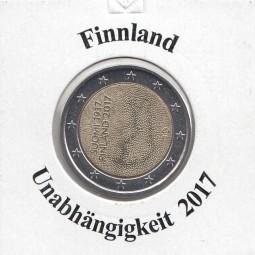 Finnland 2 € 2017, Unabhängigkeit, bankfrisch aus der Rolle