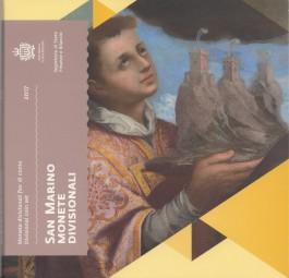 San Marino Kursmünzsatz 2017, Nominal 3,88 €, ( neue Motive )