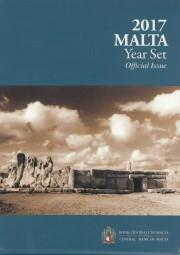 Malta 2017 Kursmünzsatz im offizieller Blister