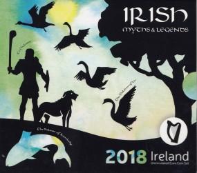 Irland Kursmünzsatz 2018 ST / BU