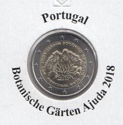 Portugal 2 € 2018, Ajuda, bankfrisch aus der Rolle