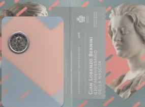 San Marino 2 € 2018, Bernini, bankfrisch im Blister