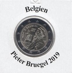 Belgien 2 € 2019 P. Bruegel bankfrisch
