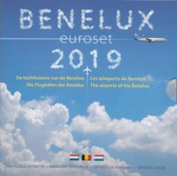 Benelux Kursmünzsatz 2019 ST