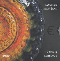 Lettland Kursmünzsatz 2020 ST