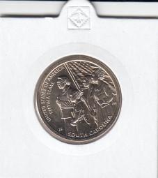 USA Innovation Dollar 2020, bankfrisch, South Carolina, D