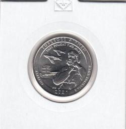 USA Quarter, 2021 , Tuskegee Airmen, bankfrisch , S