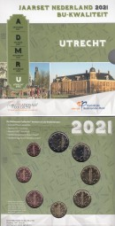 Niederlande KMS 2021, im offiziellen Blister