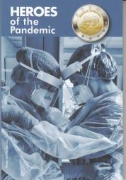 Malta 2 € 2021, Helden der Pandemie im Blister