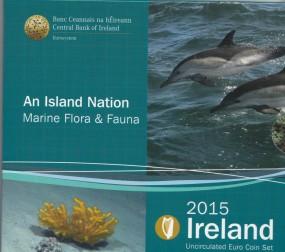 Irland Kursmünzsatz 2015 ST