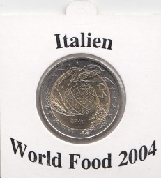 Italien 2 € 2004, World Food