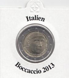 Italien 2 € 2013, Boccaccio