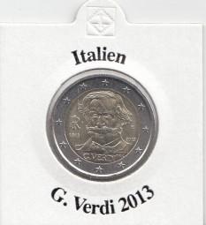 Italien 2 € 2013, G. Verdi