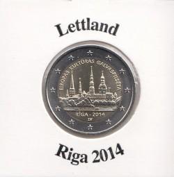 Lettland 2 € 2014, Riga