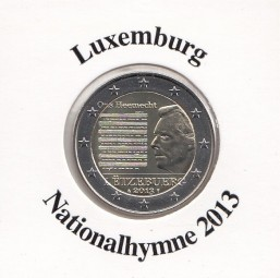 Luxemburg 2 € 2013, Nationalhymne