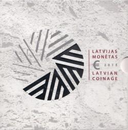 Lettland Kursmünzsatz 2015 ST
