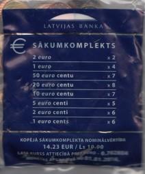 Litauen Starterkit 2015, Nominale 14,23 €