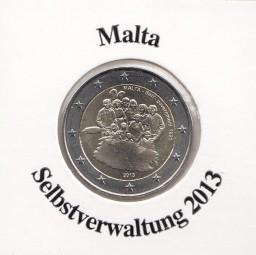 Malta 2 € 2013, Selbstverwaltung