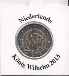 Niederlande 2 € 2013, König Wilhelm
