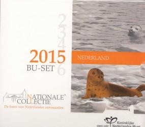 Niederlande Kursmünzsatz 2015 ST