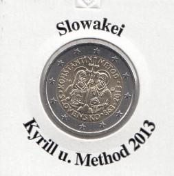 Slowakei 2 € 2013 Kyrill u. Method