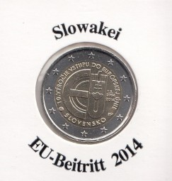 Slowakei 2 € 2014, EU - Beitritt