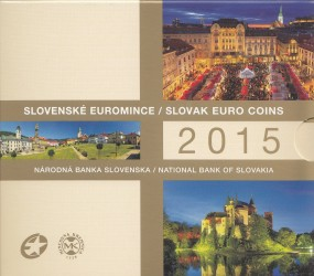 Slowakei Kursmünzsatz 2015 ST