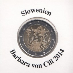 Slowenien 2 € 2014, Barbara von Chilli