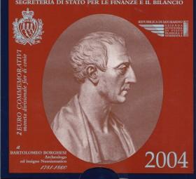 San Marino 2 € 2004, Borghesi