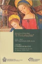 San Marino 2 € 2013 , Pinturiccio