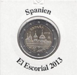 Spanien 2 € 2013, El Escorial