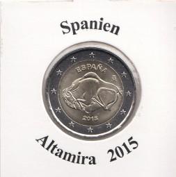 Spanien 2 € 2015 Altamira
