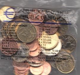 Slowenien Starterkit 2007, Nominale 12,52 €