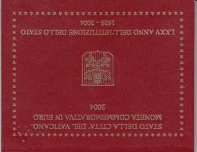 Vatikan 2 € 2004 75 Jahre Vatikan
