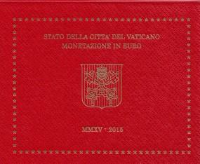 Vatikan Kursmünzsatz 2015 ST