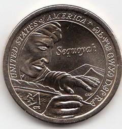 USA, Native Dollar 2017,Buchstabe D