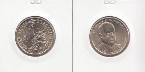 32 USA Präsidenten - Dollar 2014, Roosevelt, Buchstabe D